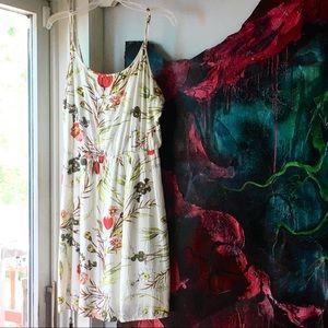Old Navy Summer Dress Floral Straps Boho